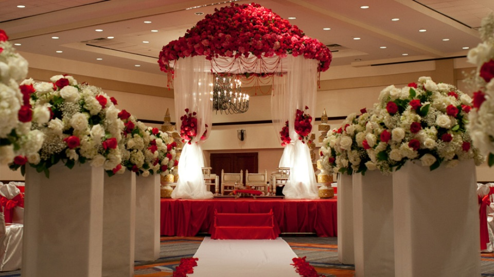 Reception Hall Decorations. EXPERIENCE Sunrise Banquet Hall  Event Center