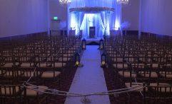 White Carpet Wedding Ceremony