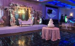 LED Dance Floor – Wedding Setup
